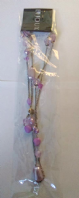 Lilac bead necklace (Code 2226)